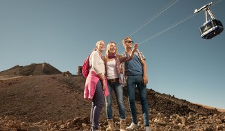 Mount Teide summit tour using the cable car
