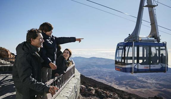 Visit Mount Teide with your Family