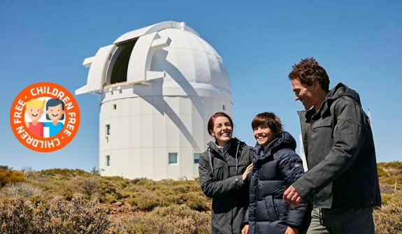 Guided daytime visit to the Teide Observatory