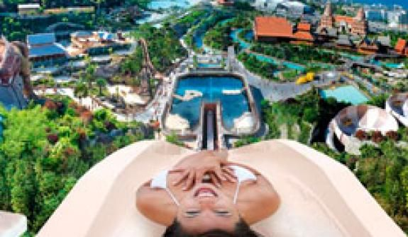 Admission and entrance tickets for the Siam Park