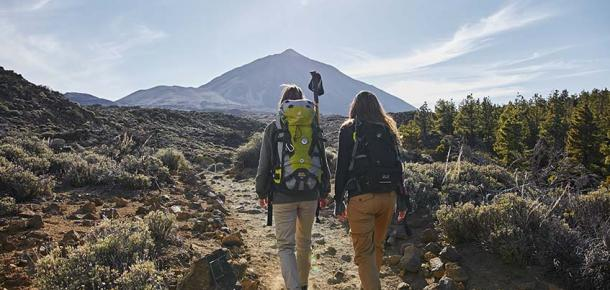 Spending a night in the Refuge on Mount Teide