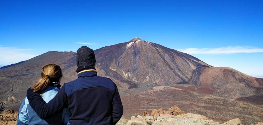 Szlak Wedrowny Na Teide Guajara Volcano Teide
