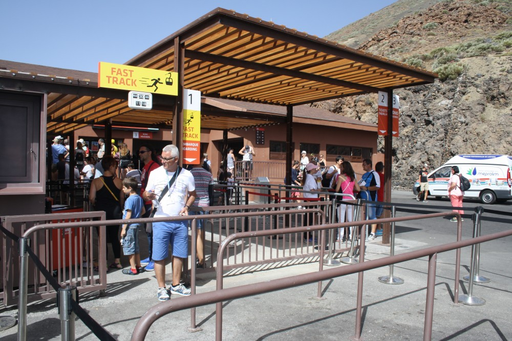 Teide Cable Car tickets without any queues or delays
