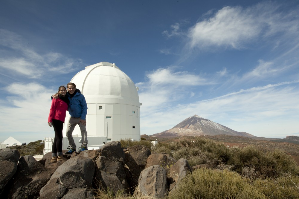 Guided visits of the Teide Observatory from Puerto de la Cruz, in the north of Tenerife, on Tuesdays