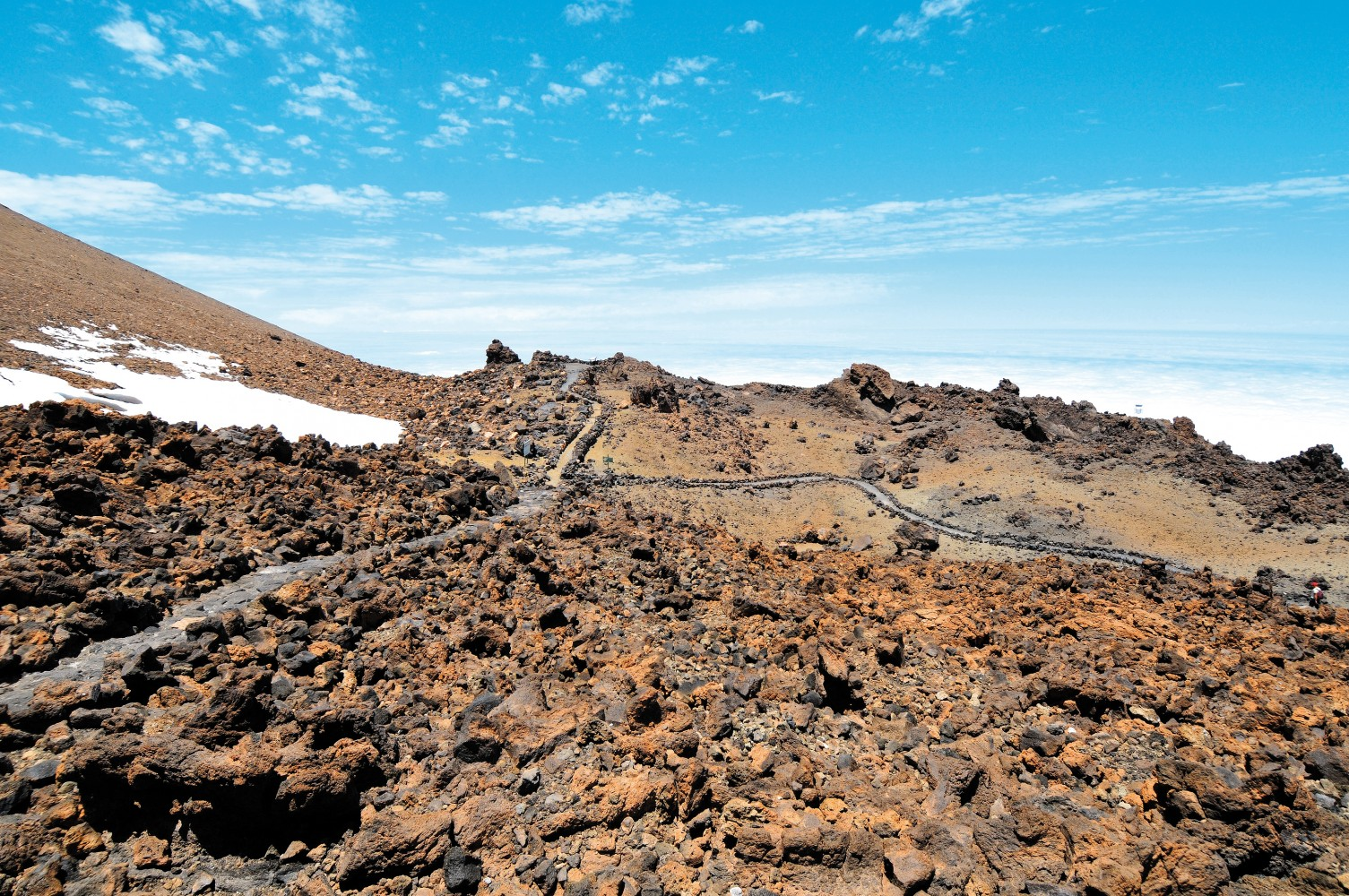 How to get up Mount Teide