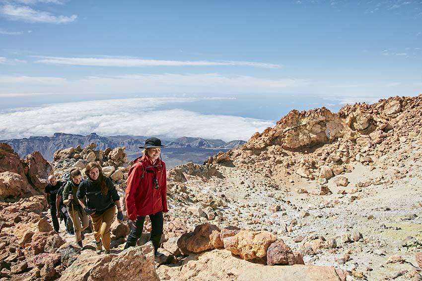 Экскурсия, чтобы совершить подъем на вершину Тейде на фуникулере
