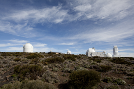 Guided visits of the world's largest solar observatory