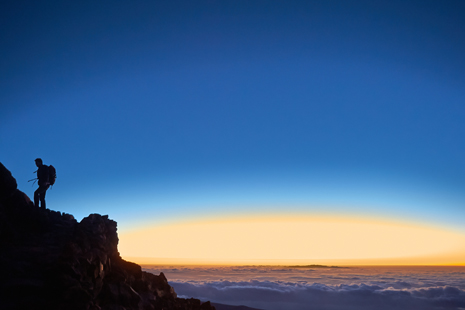 The sky of Teide