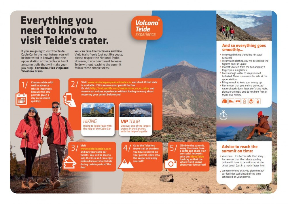 How to visit Teide's crater step by step